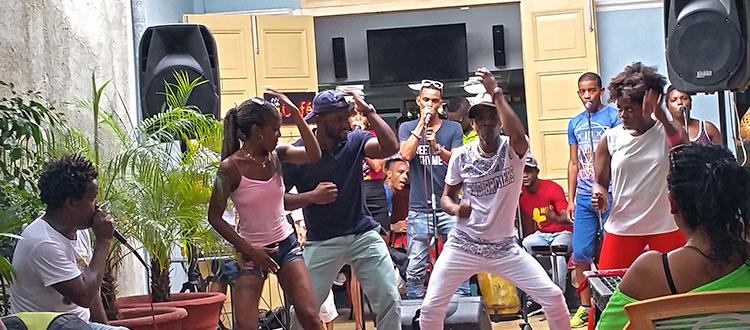 Dancing w US Professors