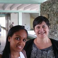 Dr. Deboarah Prosser and Geidy Ruiz